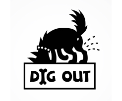 dig out logo